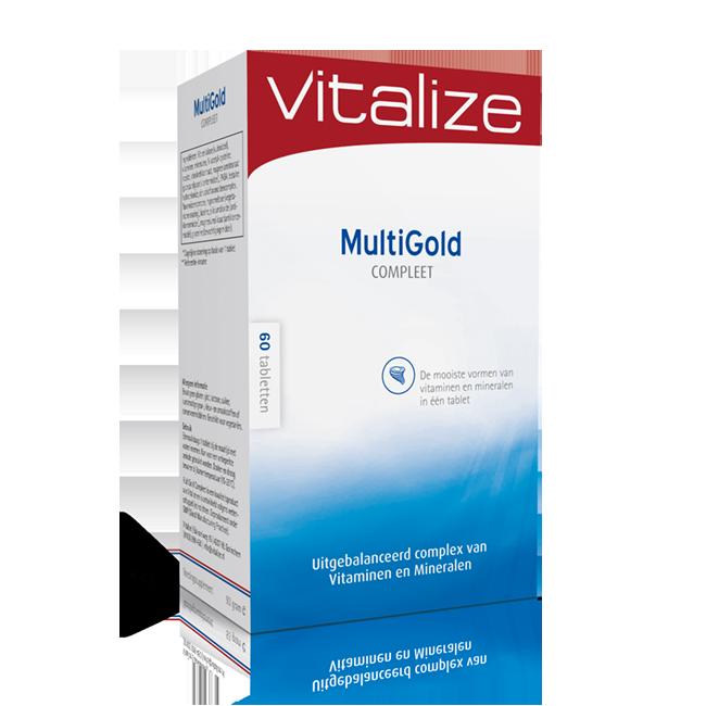 Vitalize MultiGold Compleet 60 tabletten