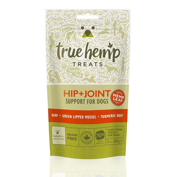 True Hemp Honden Snacks Heup + Gewricht