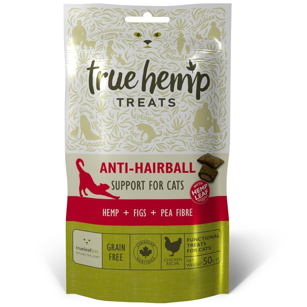 True Hemp Katten Snacks Anti-Haarbal