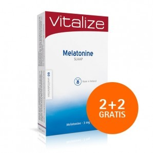 MeIatonine Slaap 3 mg