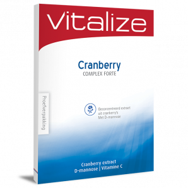 Vitalize Cranberry Complex Forte 15 tabl Proefverpakking