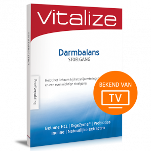Vitalize Darmbalans Stoelgang 15 caps Proefverpakking
