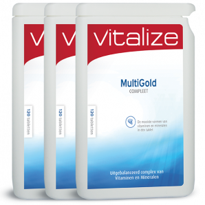 Vitalize MultiGold Compleet 360 tabletten