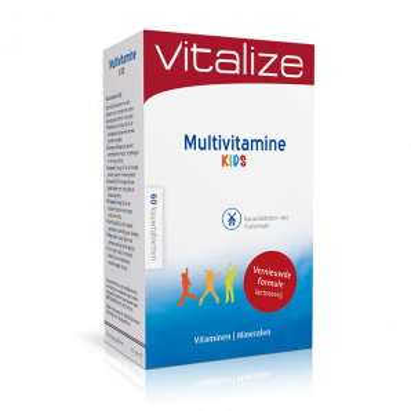 Vitalize Multivitamine Kids 60 kauwtabletten