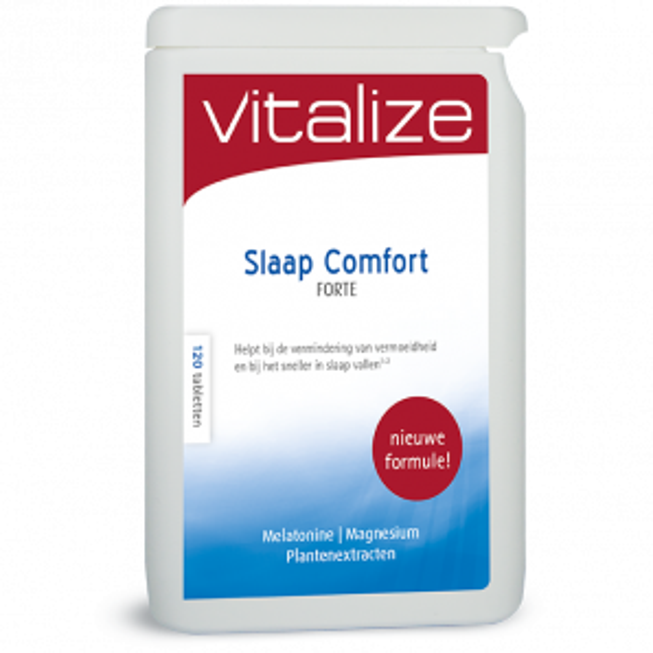 Vitalize Slaap Comfort Magnesium Complex 120 tabletten