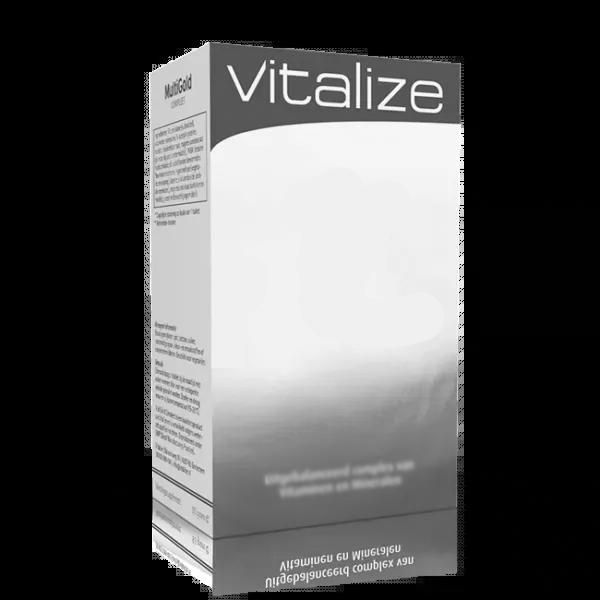 Vitalize Spirulina 500 mg 20 tabl Proefverpakking