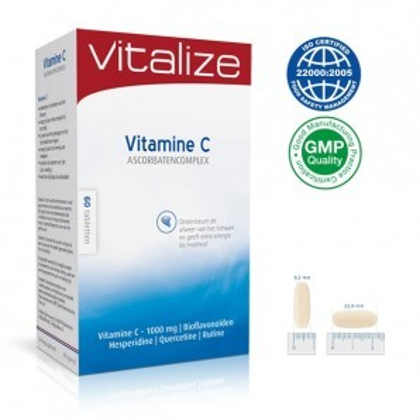 Vitamine C 1000 mg Zuurvrij