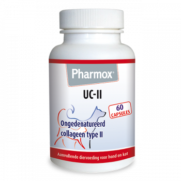Pharmox Hond & Kat UC-II® - ongedenatureerd Collageen type 2