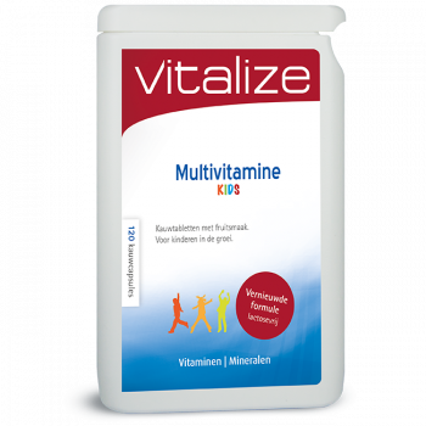 Vitalize Multivitamine Kids 240 kauwtabletten brievenbusverpakking