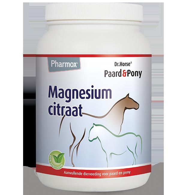 Foto van Pharmox Paard&Pony Magnesiumcitraat 1500 gram