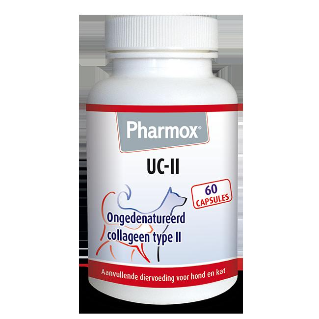 Foto van Pharmox Hond&Kat UC-II® 60 capsules
