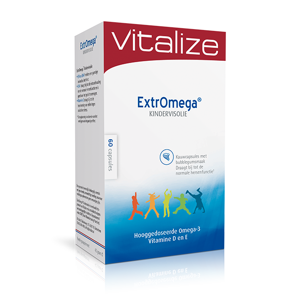 Afbeelding van Vitalize ExtrOmega Kindervisolie 60 capsules